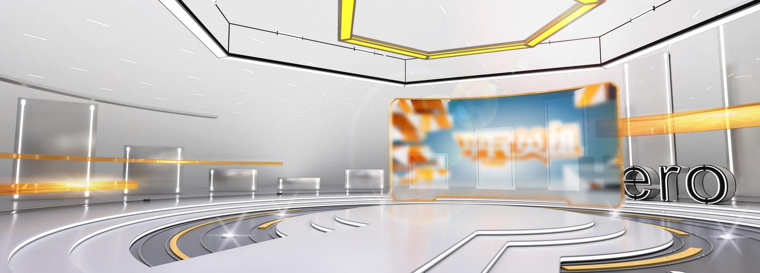 virtual studio technology 3D model
