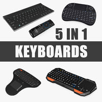portable mini keyboards 3D