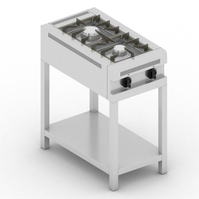 burner 42 3D model
