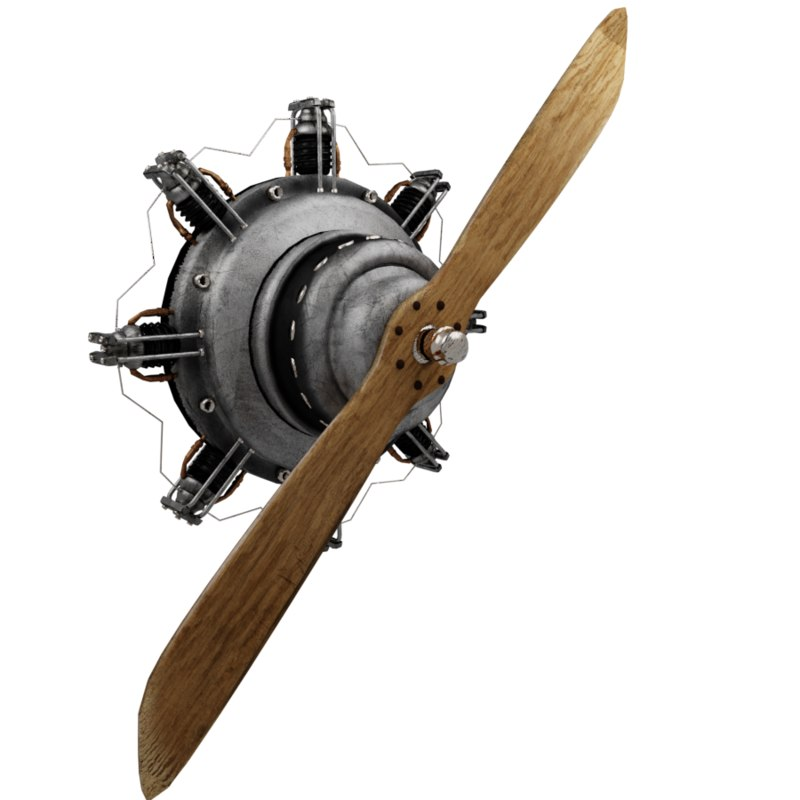 3D ue4 propeller