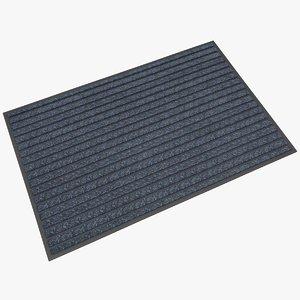 3D door mat model