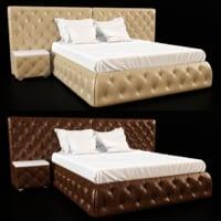 3D classic bedcloth bed ligne roset
