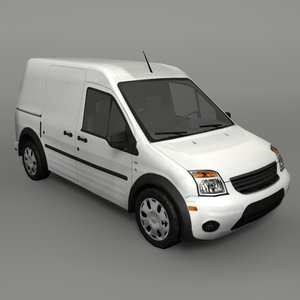 3D transit car model