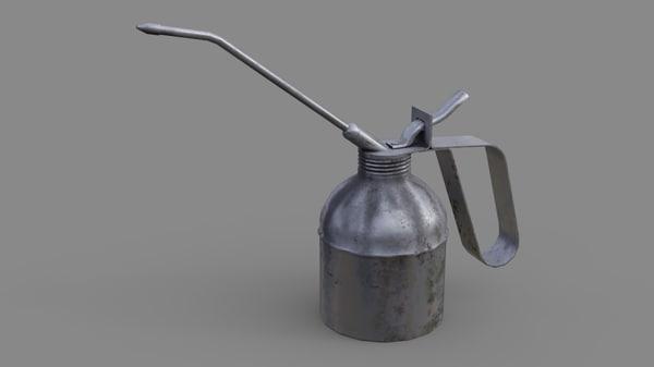 3D model oil 2b