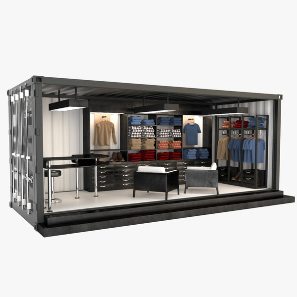 3D container store