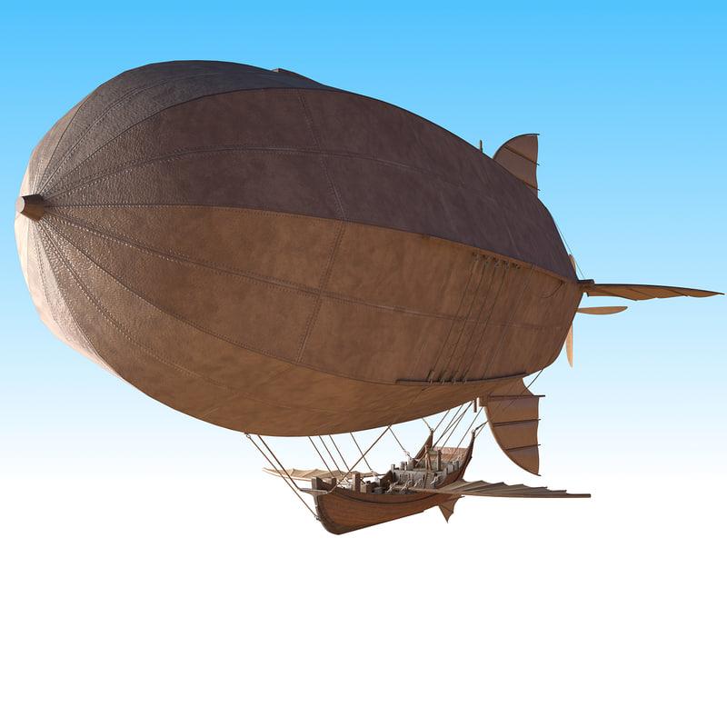 3D flying junk