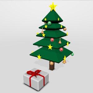 christmas pine 3D model