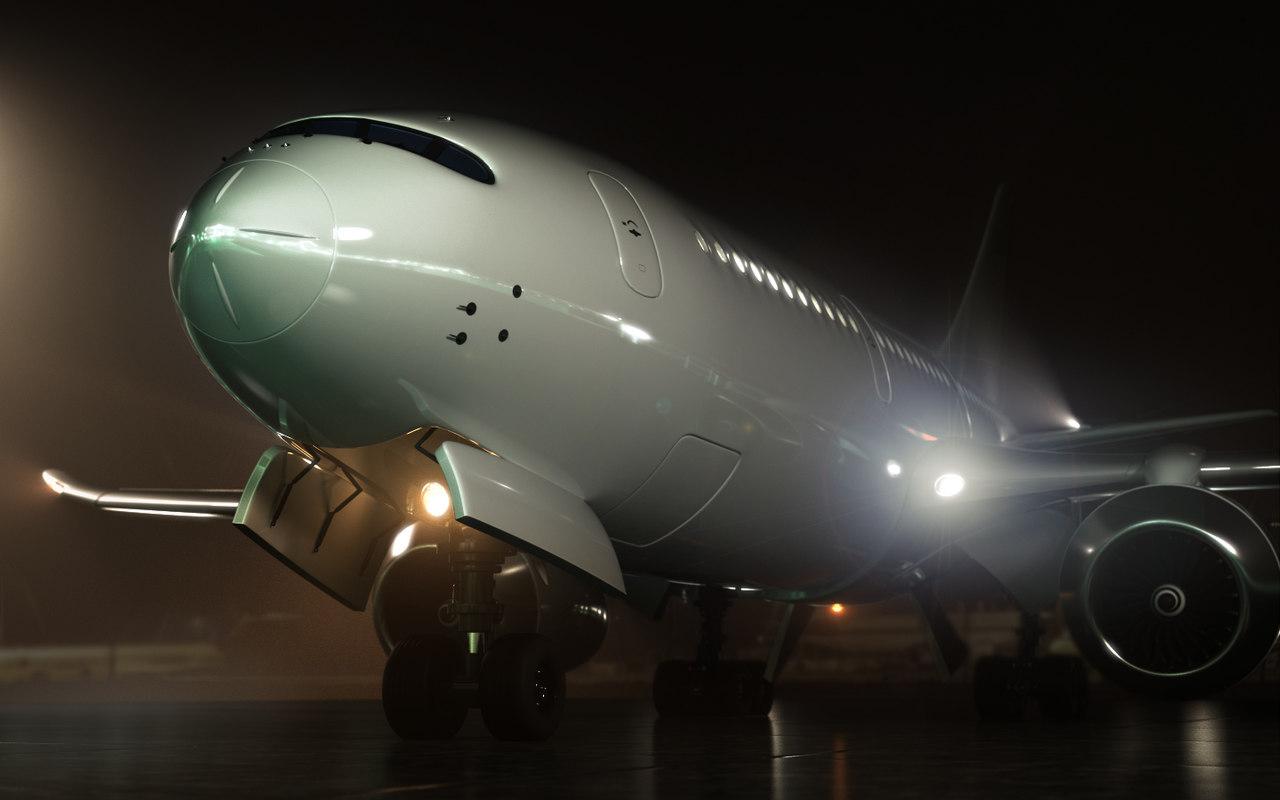 commercial jet model