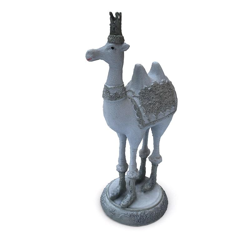 3D christmas figure