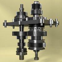 mechanical gear model