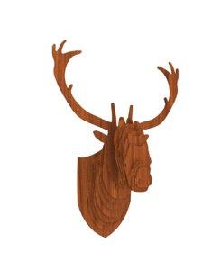 3D wooden deer