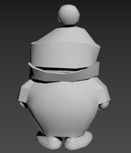 3D model boy kid