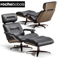 roche bobois athea armchair 3D