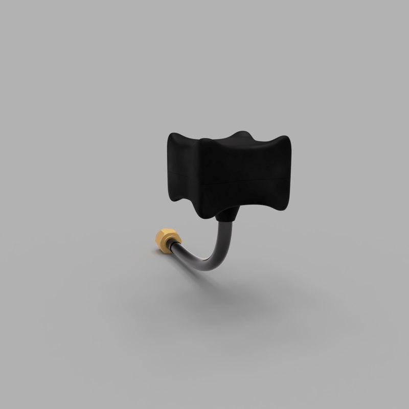 3D fpv vtx antenna model