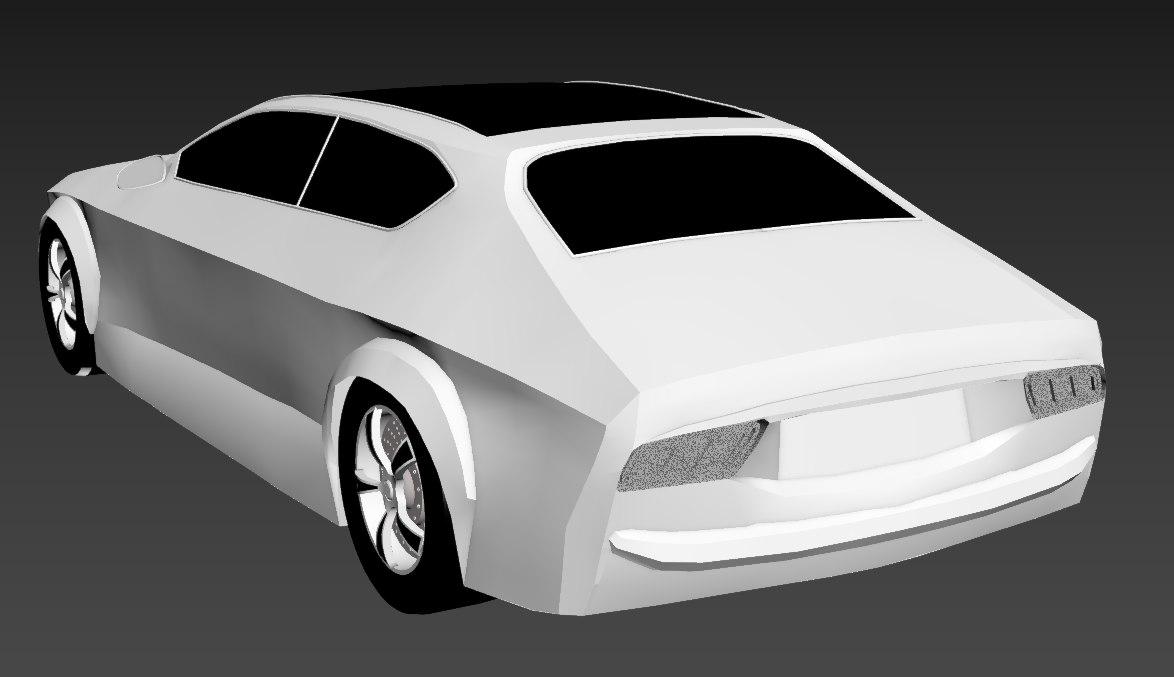concept car 3D