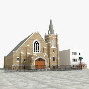 church saints cyril methodius model