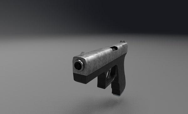 pistol ready 3D