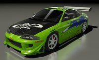 mitsubishi eclipse 1995 f model