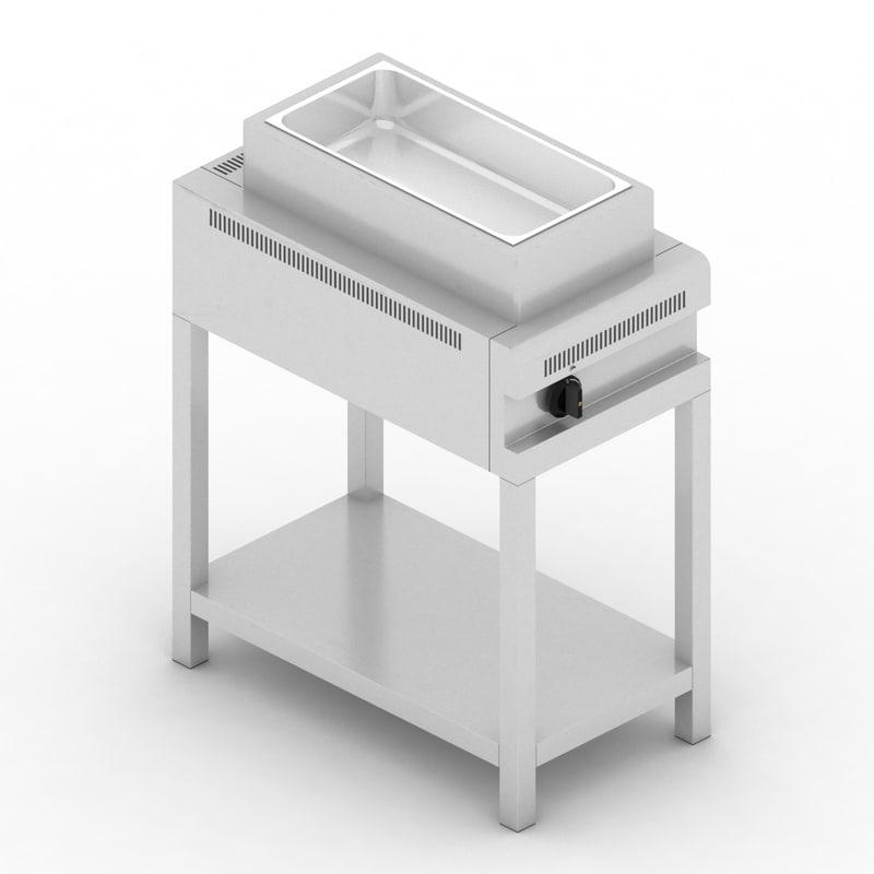 stove boiler 42 3D model