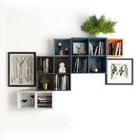 Wall-mounted cabinet combination Eket Ikea 891.891.83