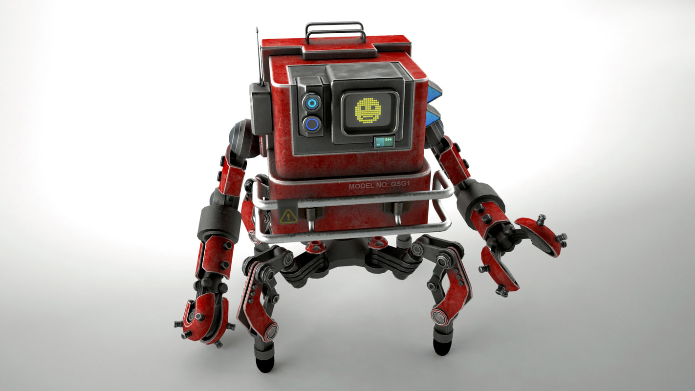 robot gsg1 3D