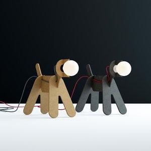 get-out-dog 3D model