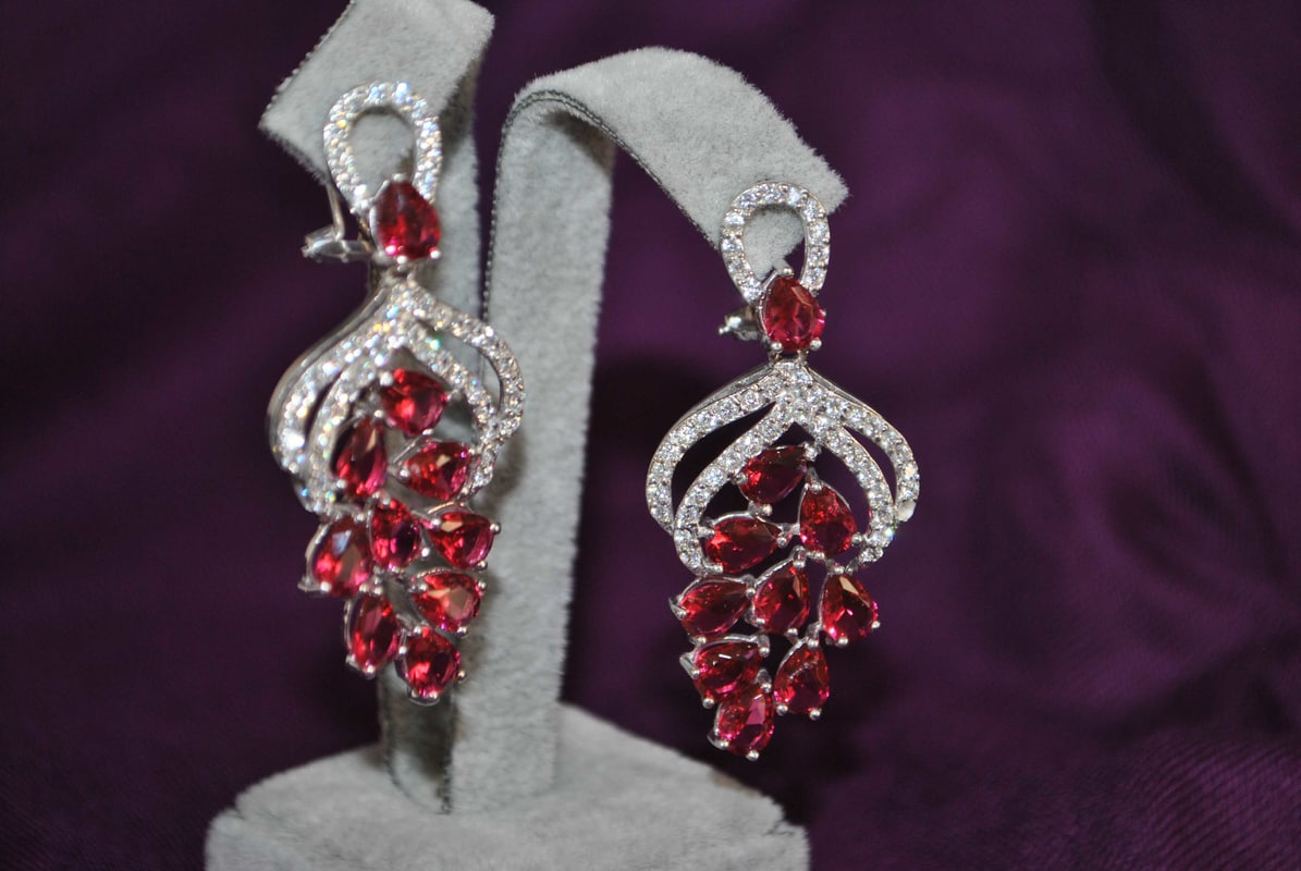 gems earrings 8 model