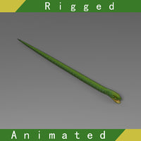 Snake Rigged Animated 02