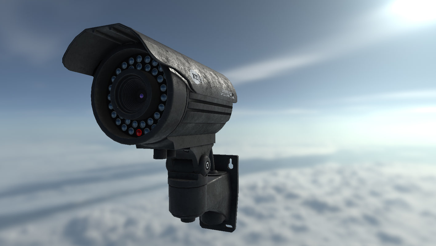3D surveillance camera