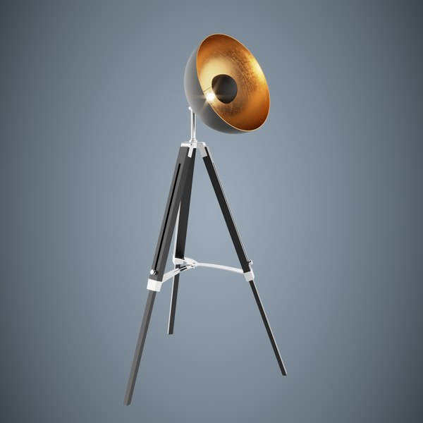 3D charming alessia standlamp