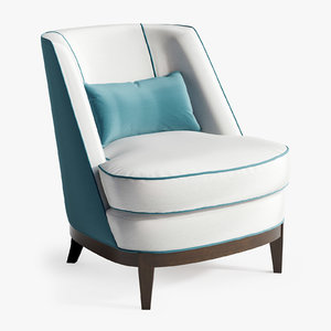 3D coco justiniano chair model