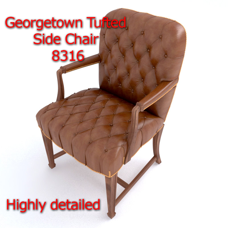 georgetown tufted chair model
