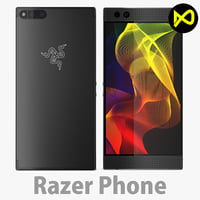 3D razer phone model