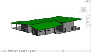 revit residential villa model