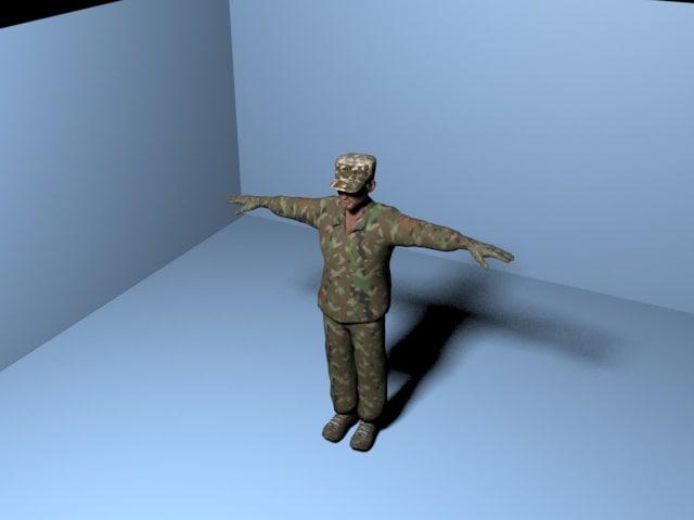 soldier model