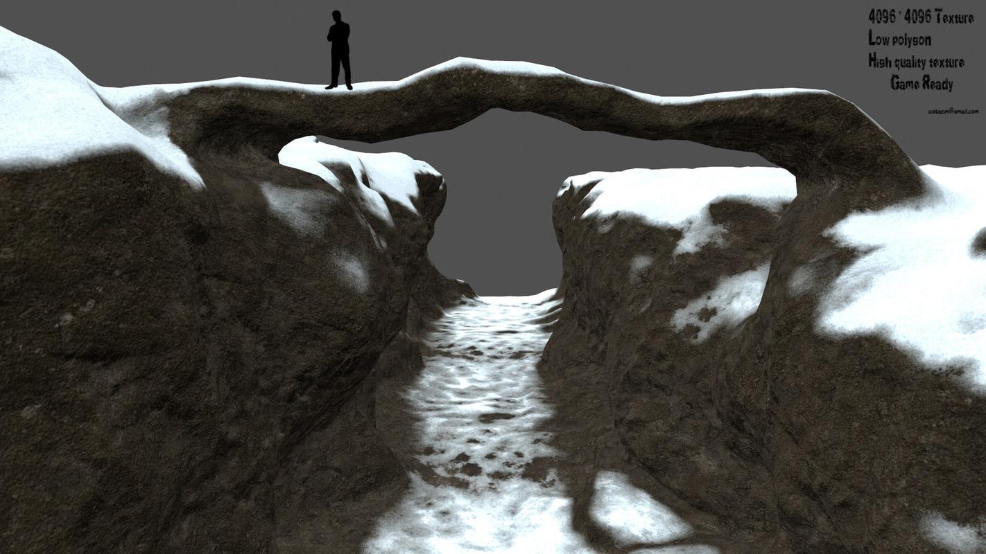 3D canyon bridge