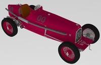 alfa romeo 1932 3D model