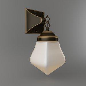 sconce rejuvenation lighting jordan 3D model