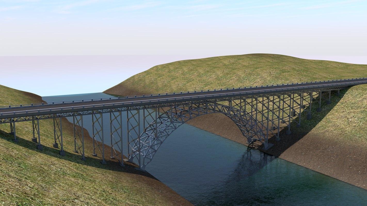 3D arch bridge