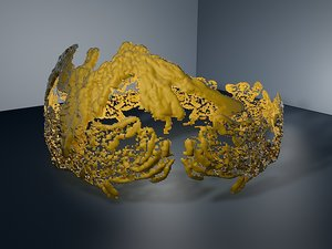 3D model crown royal