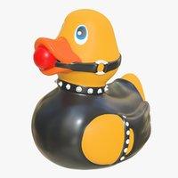 rubber duck 12 3D