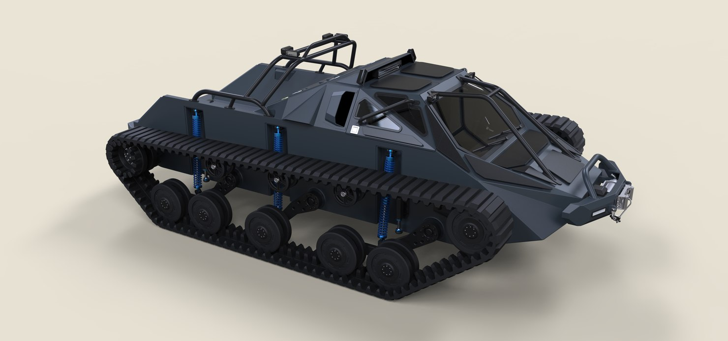 3D ripsaw tank extreme