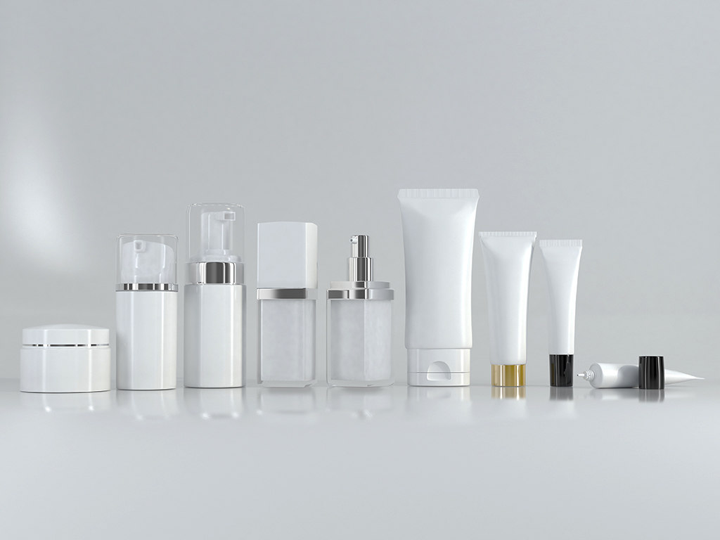 3D cosmetic bottle tube set