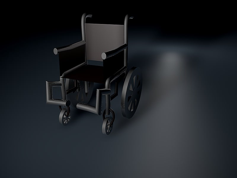 wheelchair wheel chair model