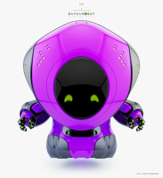 3D cartoon pirate bot