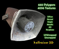 megaphone ready 3D
