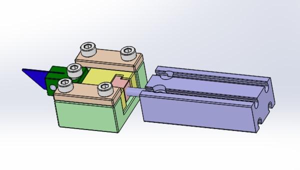 cutter module cut 3D model