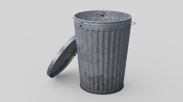 dustbin 3 3D model