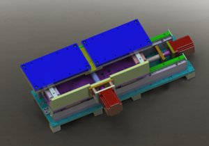 3D model working stage