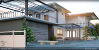 luxury house 3D model